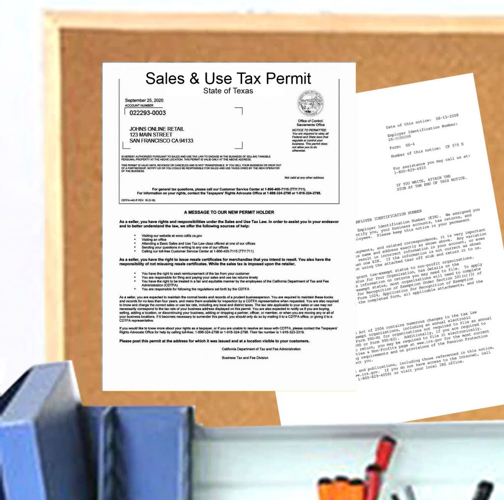 permit texas certificate ny tax seller resale sellers york authority tx
